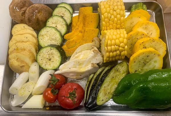 Summer BBQ Vegetables