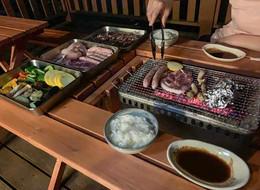 Summer bbq restaurant