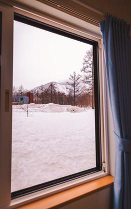 トレイルサイドアパートメントからの景色
