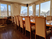 Dining room with Mt Yotei view