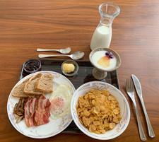 Classic breakfast set