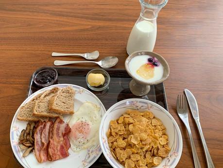 Breakfast at Niseko Ski Lodge Higashiyama