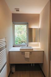 Upstairs toilet sink