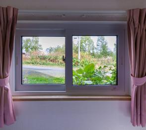 Family quad window view.
