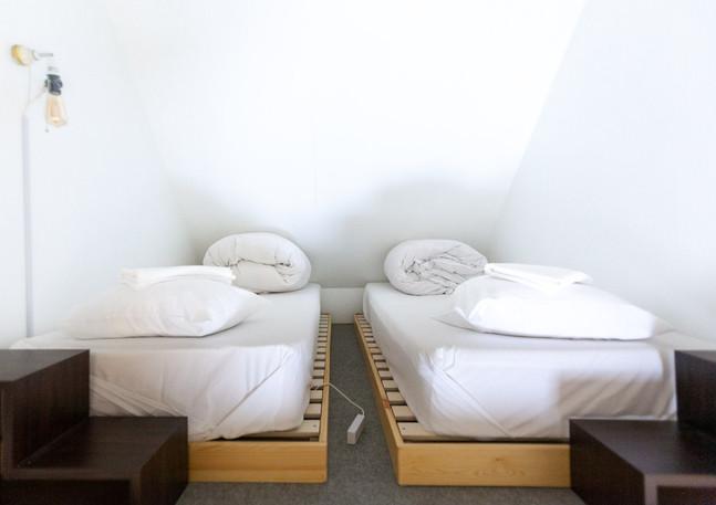 Loft beds in room 5