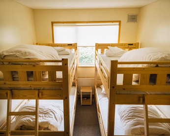 Bunk beds for 4 guests
