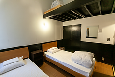Room two single beds