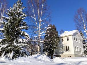Lodge Banff winter