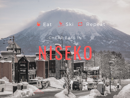 Delicious cheap eats in Niseko