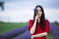 2016-06-24 - Zhu Xing - Lavender Field - 00073