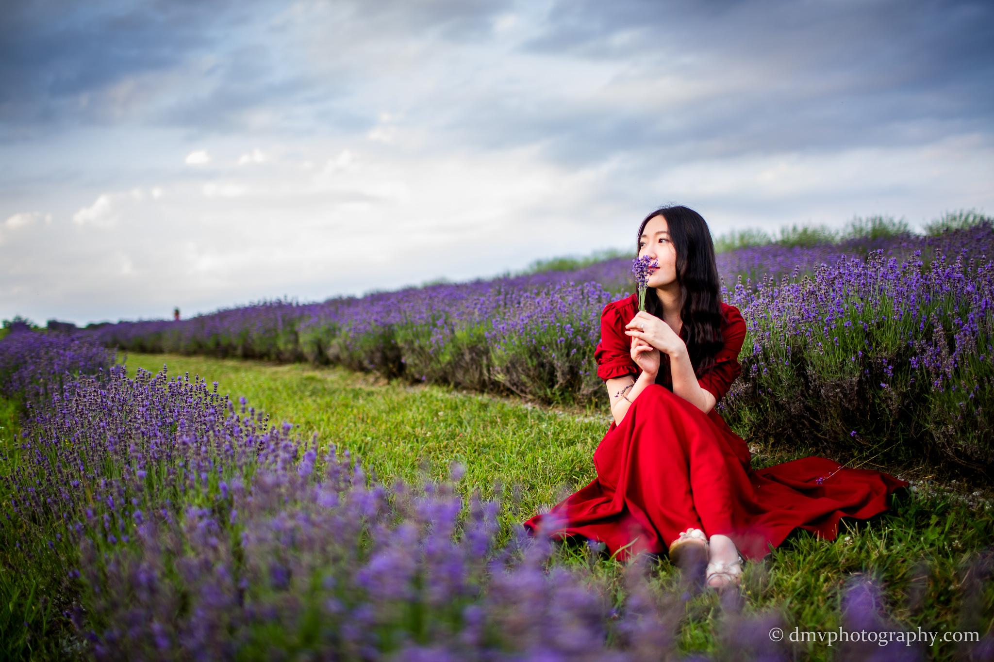 2016-06-24 - Zhu Xing - Lavender Field - 00036