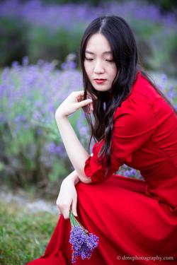 2016-06-24 - Zhu Xing - Lavender Field - 00076