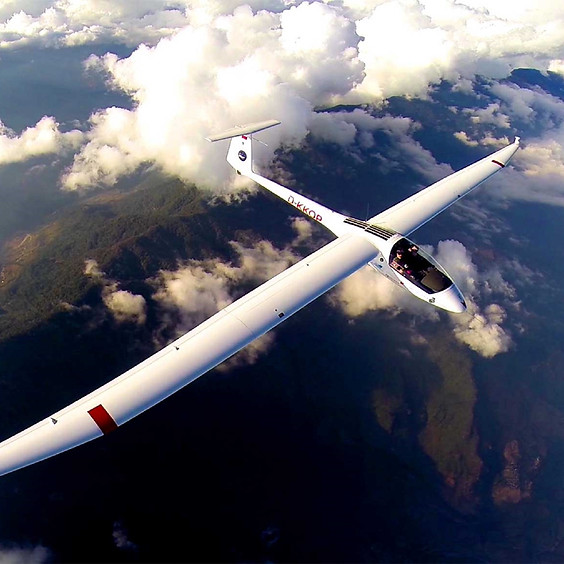 Glide above the Himalayas