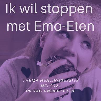 Healingsessie Stoppen met Emo-eten.
