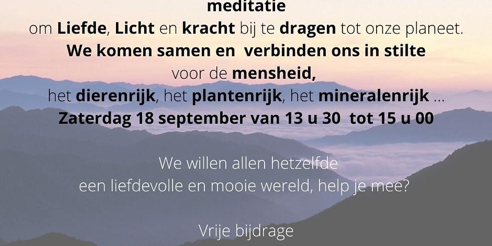 Meditatie voor de mensheid