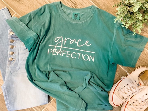 Grace Over Perfection- Forrest Green