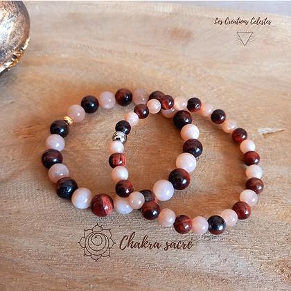 Harmonisation Chakra Sacré - Perles 6 ou 8 mm