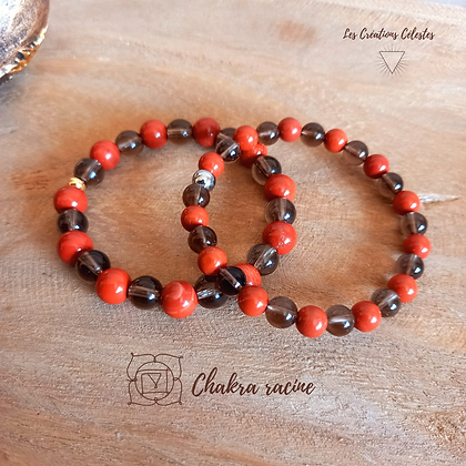 Harmonisation Chakra Racine - Perles 6 ou 8 mm