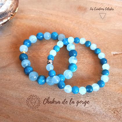 Harmonisation Chakra Gorge - Perles 6 ou 8 mm