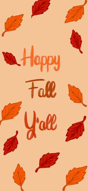 Happy Fall Yall Wallpaper iPhone