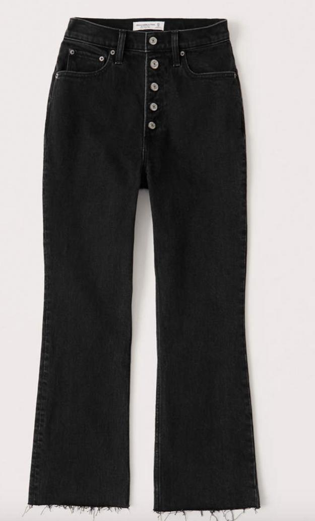 Ultra High Rise Kick Flare Jeans $44.50