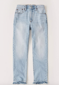 High Rise Ankle Mom Jeans $44.50