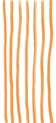 Orange Stripe Wallpaper iPhone