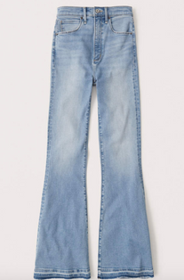 Ultra High Rise Flare Jeans $44.50