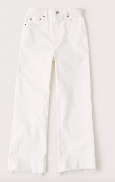 Ultra High Rise Cropped Wide-Leg Jeans $44.50