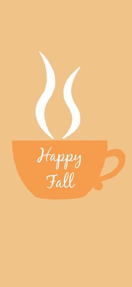Fall Coffee Wallpaper iPhone