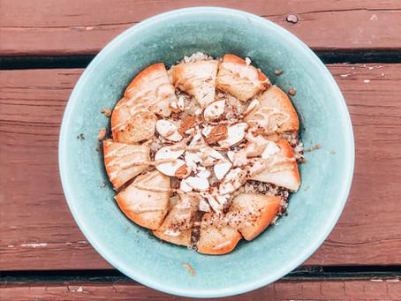 Apple Cinnamon Almond Quinoa Breakfast Bowl
