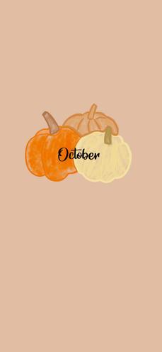 October Pumpkin Wallpaper iPhone