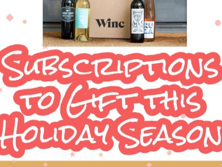 Subscriptions to Gift this Holiday Season