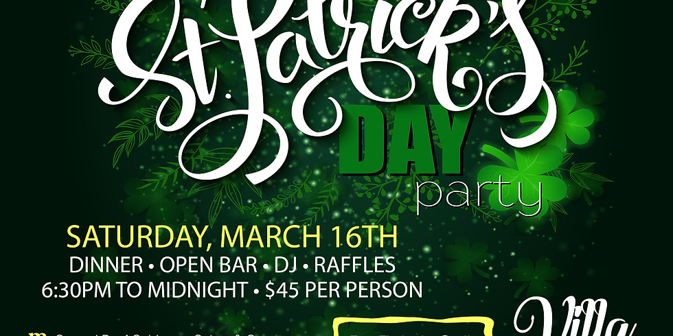 ST. PAT'S DAY PARTY