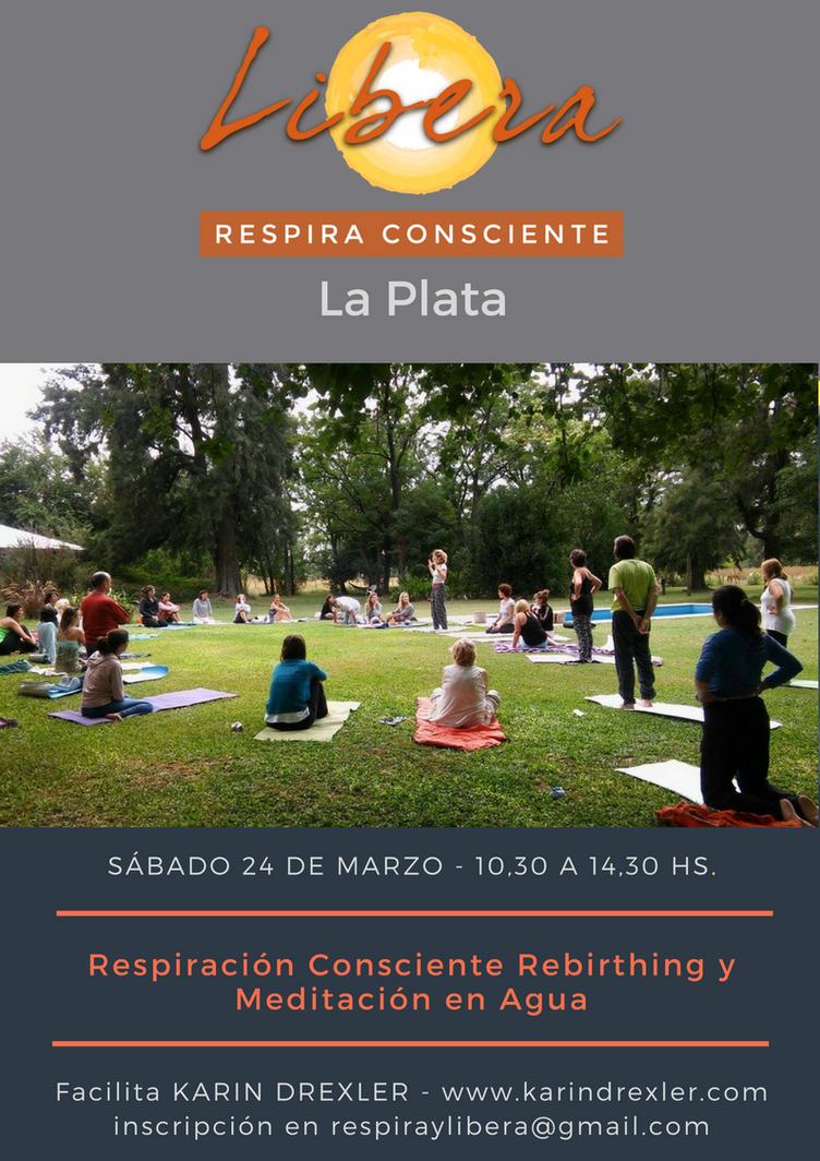 Respiración de Renacimiento y Meditación en Agua
