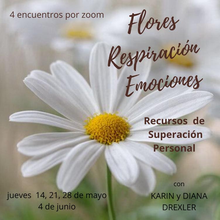 Flores, Respiración Y Emociones