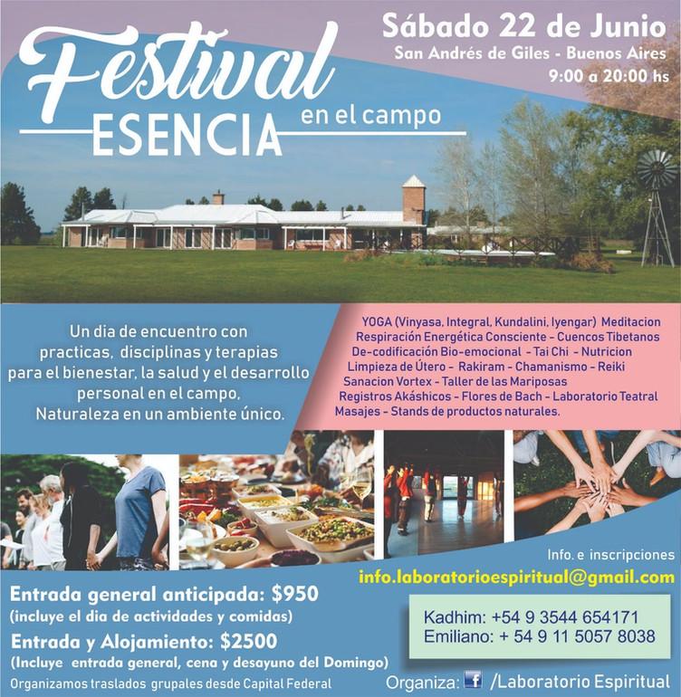 Festival en el campo