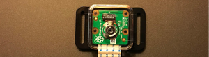 Camera in protective case