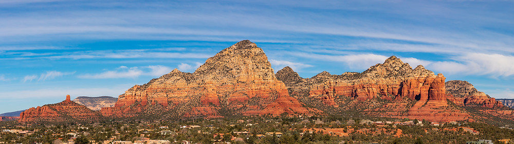 Airport Mesa and Loop Trail in Sedona, Arizona