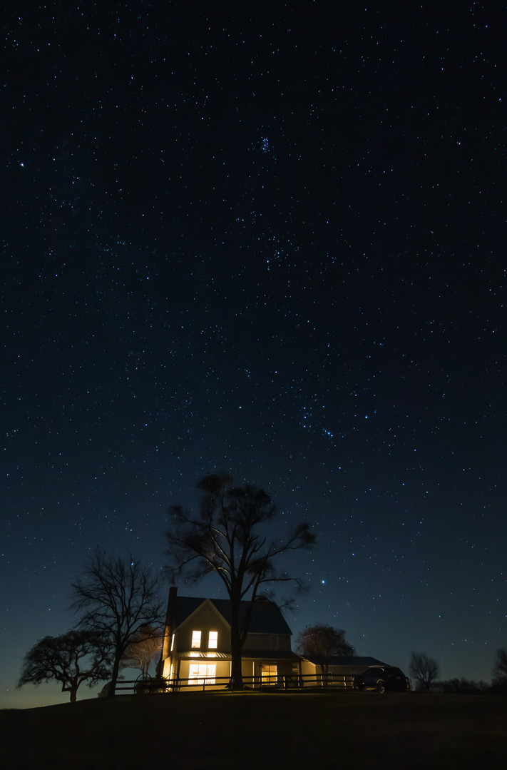 Starry Night in the Country