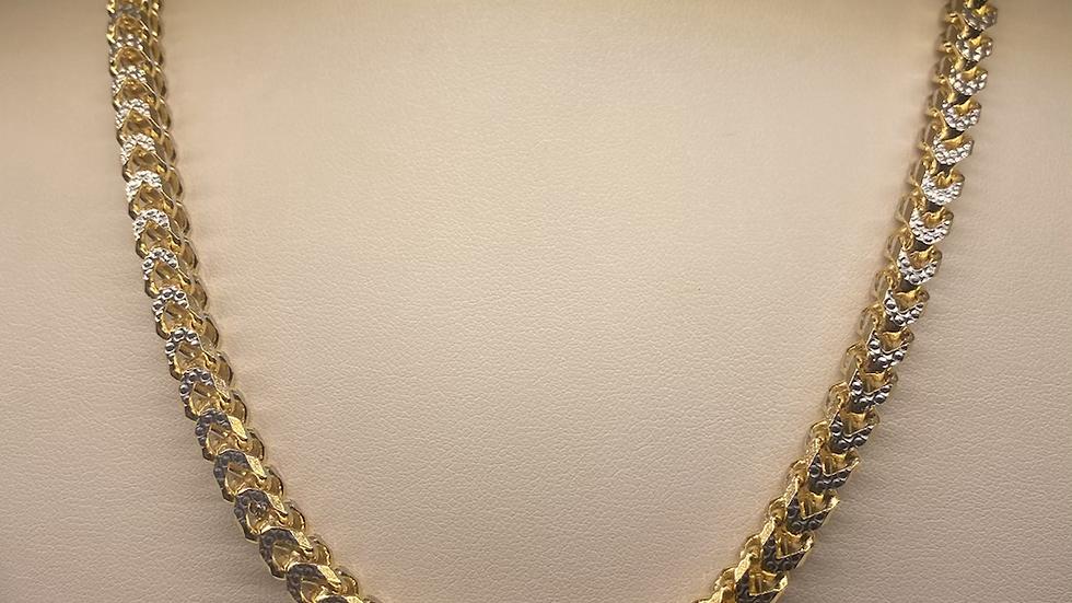Franco diamond cut chain