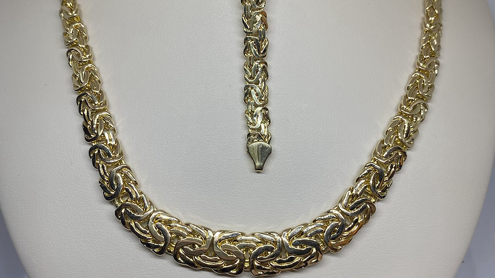 14k Gold Chain and Bracelet Carter