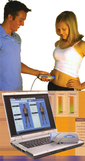 Intellimetrix/Bodymetrix body compositon testing unit and report