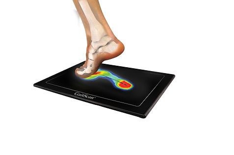 GaitScan digital gait scanner for custom orthotics