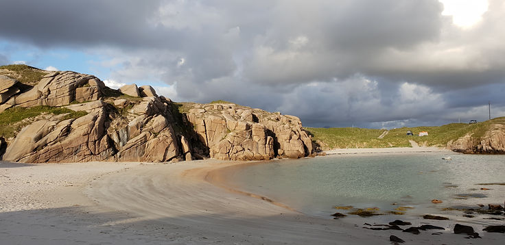 Drift Away Campers Wild Camping VW Campervan Rental and Hire The Boat Strand Co. Donegal