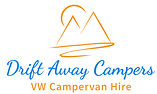 Drift Away Campers Logo for VW Campervan Hire Ireland
