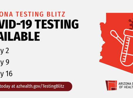 The Arizona Testing Blitz