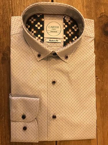 Brown Squares Shirt