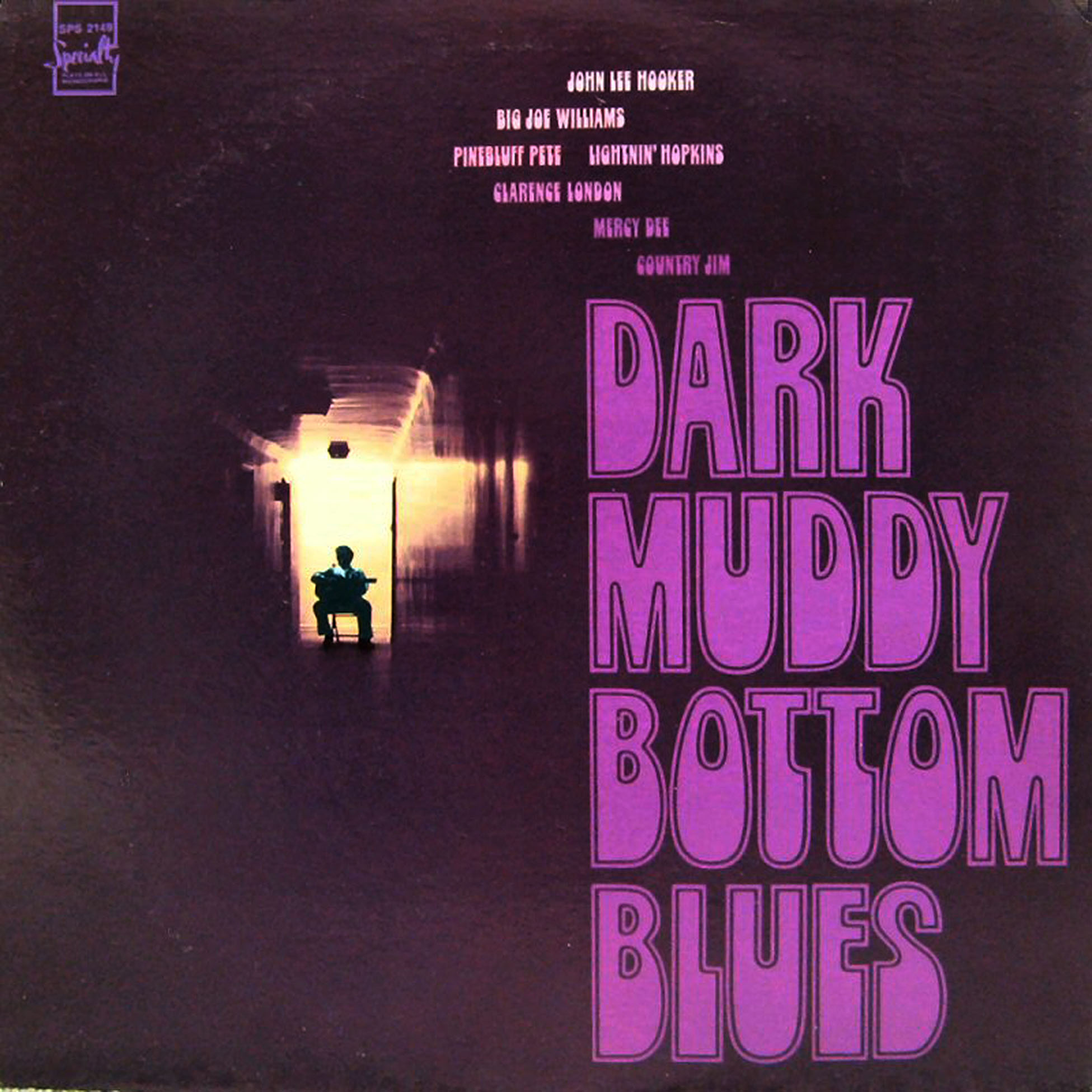Dark Muddy Bottom Blues record cover
