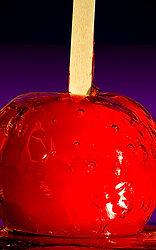 Candy Apple Red - Photograph and haiku by Ken Schuster.